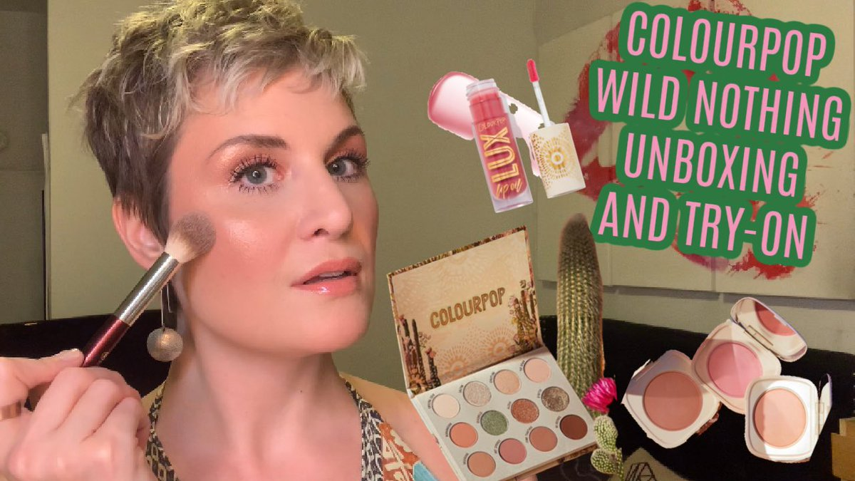 About to go live! Grab a drink and join me! COLOURPOP WILD NOTHING COLLECTION | UNBOXING AND TRY-ON | Cate the Great... https://youtu.be/KAqxtHWAR8E  via @YouTube @ColourPopCopic.twitter.com/aIMsYSoI0V
