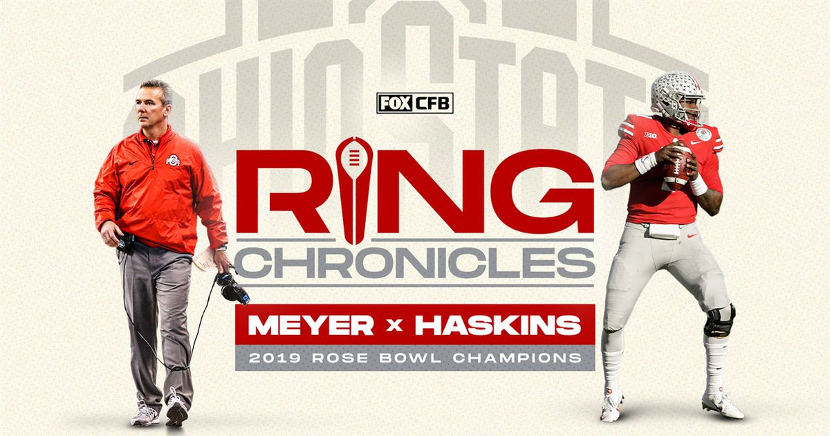 Urban Meyer and Dwayne Haskins relive Ohio State's 2019 Rose Bowl Appearance | Ring Chronicles https://t.co/ODPjiL6TWa https://t.co/Aef85JqBBt