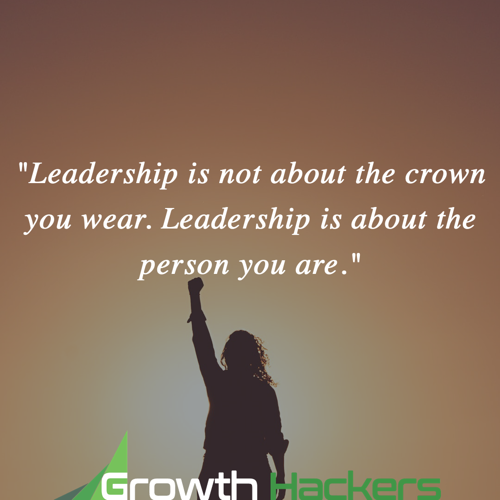 """""""Leadership is not about the crown you wear. Leadership is about the person you are.""""  #Leadership #LeadershipDevelopment #LeadershipMatters #Management #HR #HumanResources #Leader #Leaders #BusinessQuote #SuccessQuote pic.twitter.com/hA57qh4M33"""