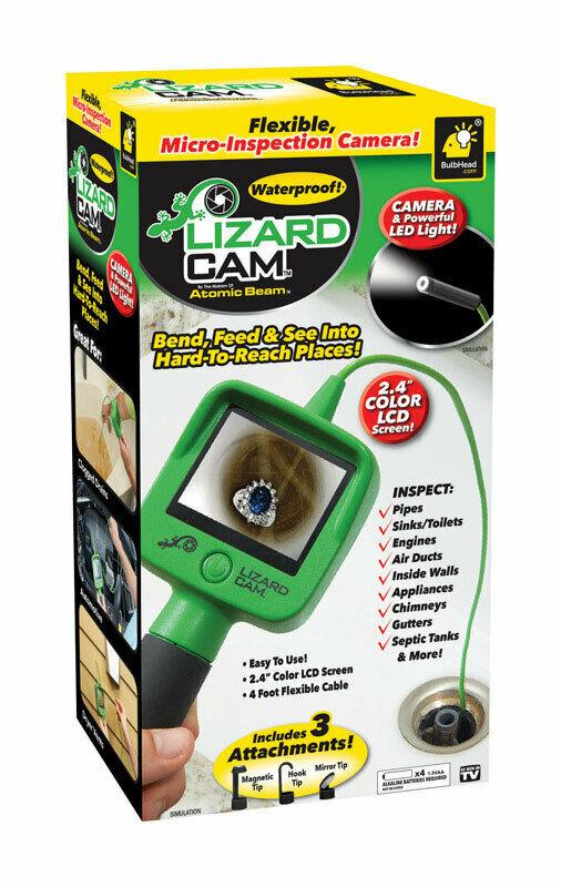 lizard cam .. micro-inspection camera #TelebrandsCorporation https://www.pic2shop.com/item/0097298041563_0…pic.twitter.com/YKzAPQ4qRL