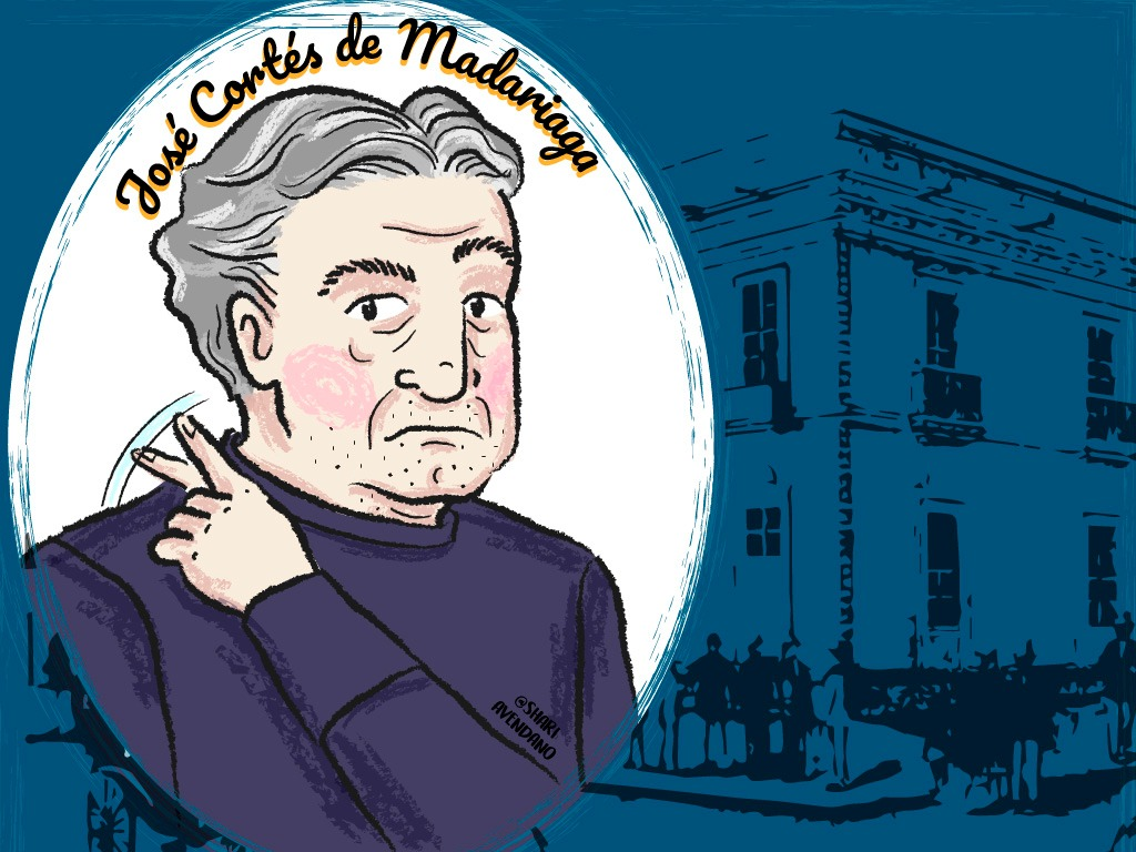 #CivilesQueHicieronHistoria ¿Sabías que la participación de Madariaga el #19Abr de 1810 fue más allá de la señal negativa con la mano detrás de la cabeza de Emparan? El historiador @rafaelarraiz nos cuenta su vida y obra, con ilustración de @ShariAvendano https://bit.ly/38BtOMspic.twitter.com/tnNuENPxTs