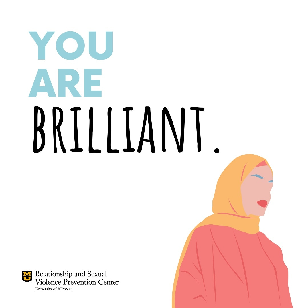 We want you to know that you are brilliant.  --  Trauma is known to affect one's self-esteem and self-worth. Keeping this in mind, we are taking the next several weeks to share some affirmations as it is more important than ever to support those in our communities. pic.twitter.com/iPv5UmMC9I