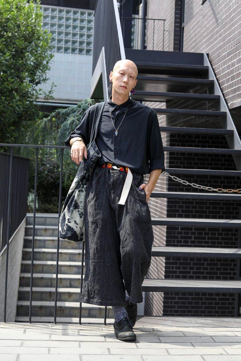 【スナップ】名前:田中ショヲタシャツ:Y'sボトムス:Yohji Yamamotoシューズ:Yohji Yamamoto