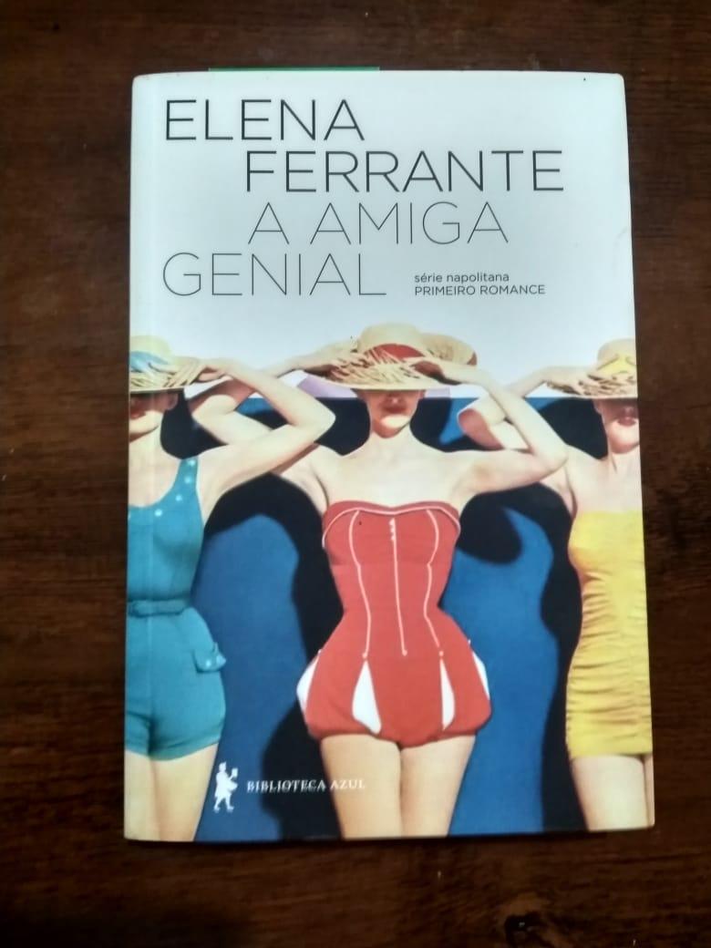 Estou apaixonado com a Elena Ferrante. Alguém mais é derretido por ela? #leitura 🥰😅🧘