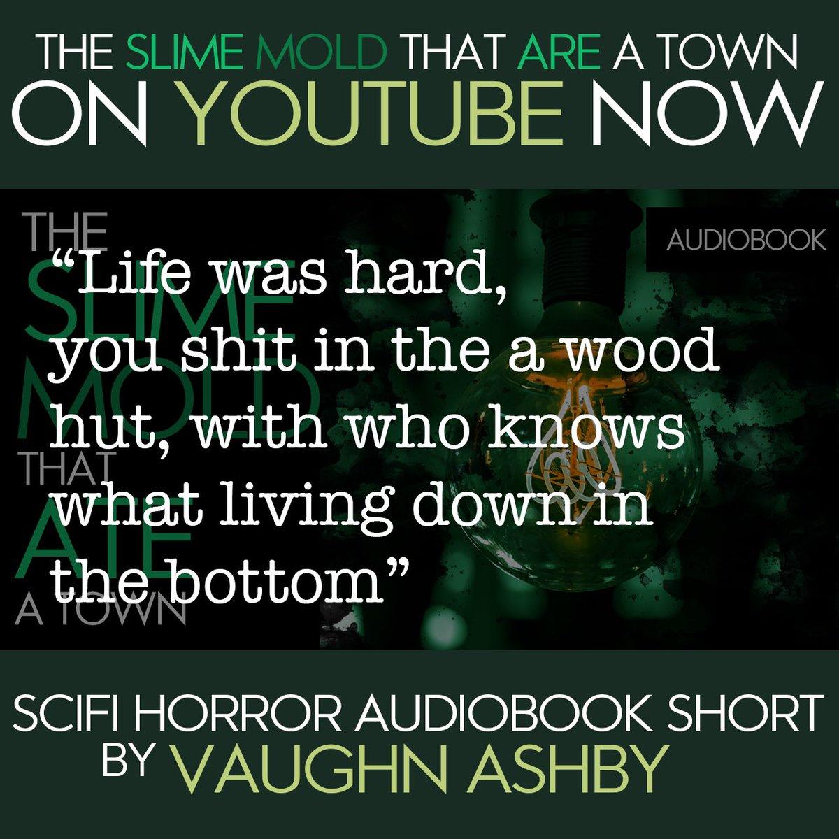 SCI-FI HORROR AUDIOBOOK SHORT STORY  https://youtu.be/KNwpq-v0CTw  #Horror#SciFi#DarkComedy #sciencefiction #scifiart  #IndieHorror #horrorjunkie #horrorfanatic  #Audiobook#audiobooks#AudioStory #smalltown #mountainlife #mountainstories #coalmining #coaltownpic.twitter.com/XDIAvizqcm