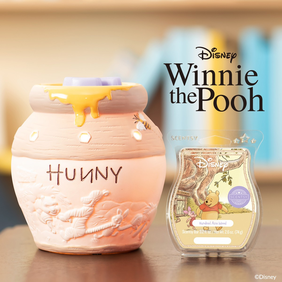 Trista On Twitter Winniethepooh Fans Scentsy Candle Warmer The Bee S Knees Overflowing Honey Playful Romp Between Hundred Acre Wood Friends Captured Https T Co Tugn955nuc Disney Disneylife Winnie Honey Candle Home Decor