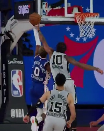.DeMar_DeRozan getting it done on both ends.   #GoSpursGo | #WholeNewGame https://t.co/WSKiOxfa4S #actnearn #sct