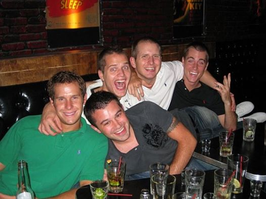 Wow. This just popped up as my first tagged photo on FB from 12 years ago. NYC with @MrAdamAp @MLGPuckett @shibbyrw and @JonCurran5. Weve come a long way fellas.