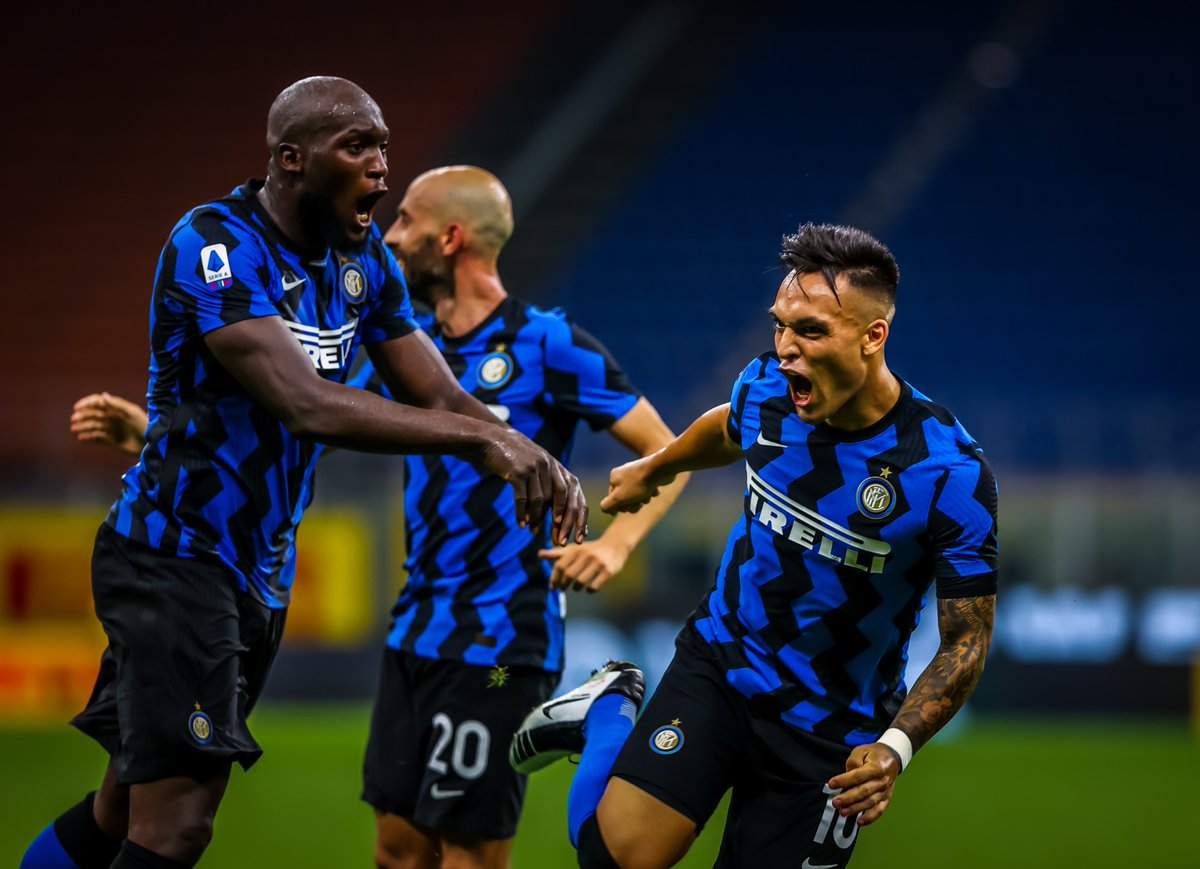 #Inter has risen after 9 years to finish runner up in #SerieA 2019/20 season. Inter won 5 scudetto's consecutively from 2005-2010 and then they finished runner up in 2010-11.#ForzaInter #notte #notforeveryone #FIFA21   ID 191971535 © Ettore Griffoni http://Dreamstime.compic.twitter.com/2cm6IjzL2I