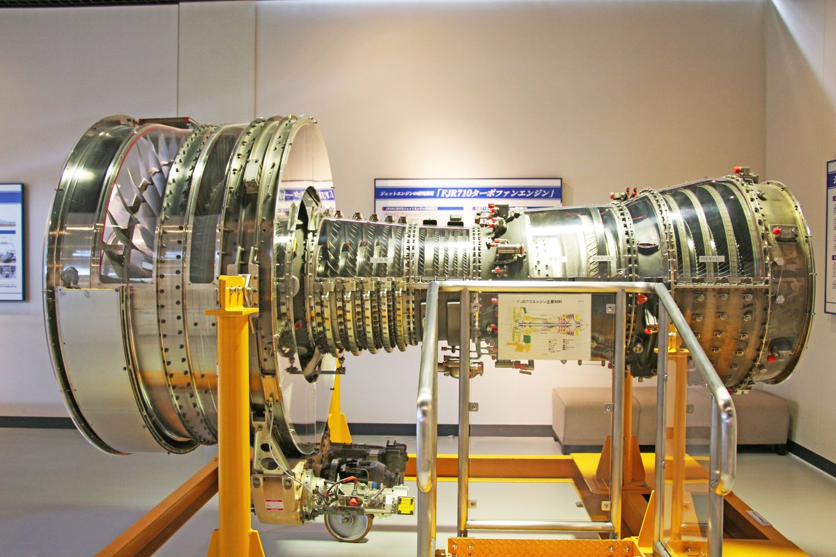 "JAXA航空技術部門 on Twitter: ""②FJR710ターボファンエンジン 1970 ..."