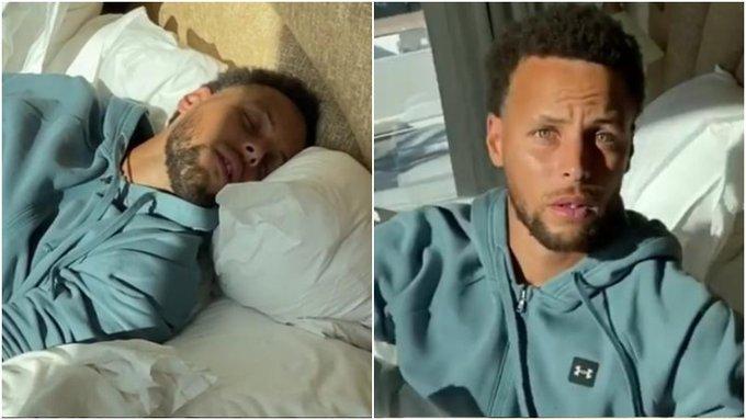 【影片】Stephen投啊!柯瑞睡夢中慘遭阿耶莎惡搞,醒來後一臉懵逼:我還以為自己在奧蘭多…