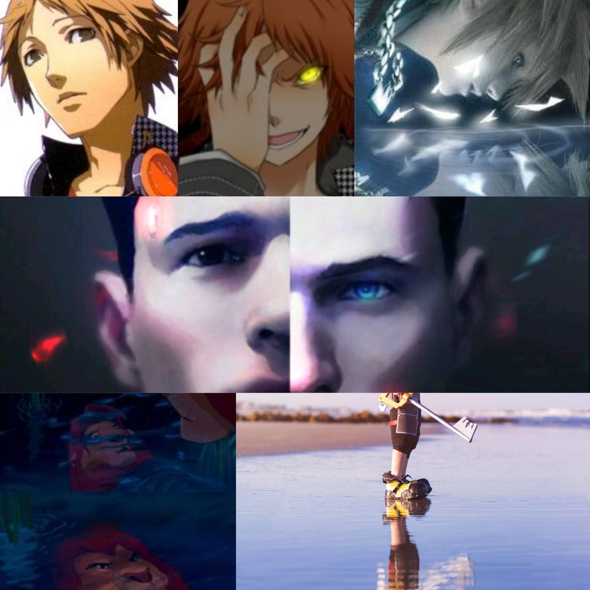 August Art Prompt Day 3: Reflection  No one is able to look upon their own reflection without finding some flaw, but having flaws is something that we ALL have in common, no matter who you are, it's what makes us human.  #DechartGames #ConnorArmy @BryanDechart @AmeliaRBlairepic.twitter.com/ev9g1QMHZL