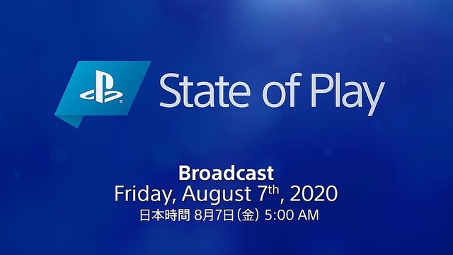【楽しみ】プレイステーション新作発表「State of Play」7日朝5時から配信PS4とPSVRで発売予定のサードパーティ製タイトルが中心。PS5などのハードウェアの情報、発売日や予約については、今回含まれないという。