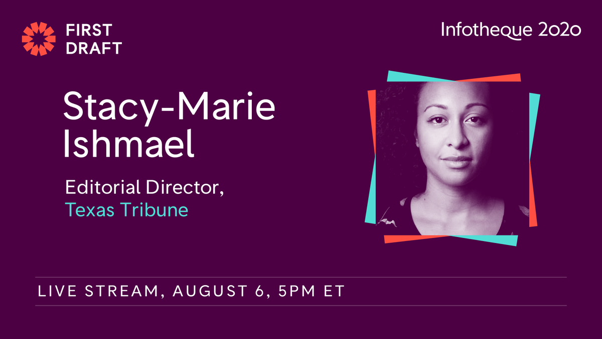 On Thursday, August 6 tune in for a conversation with @s_m_i, Texas Tribunes editorial director and veteran of BuzzFeed and the Financial Times. Well talk about the challenges of election reporting in a digital news world and how journalists can prepare. bit.ly/infotheque-live