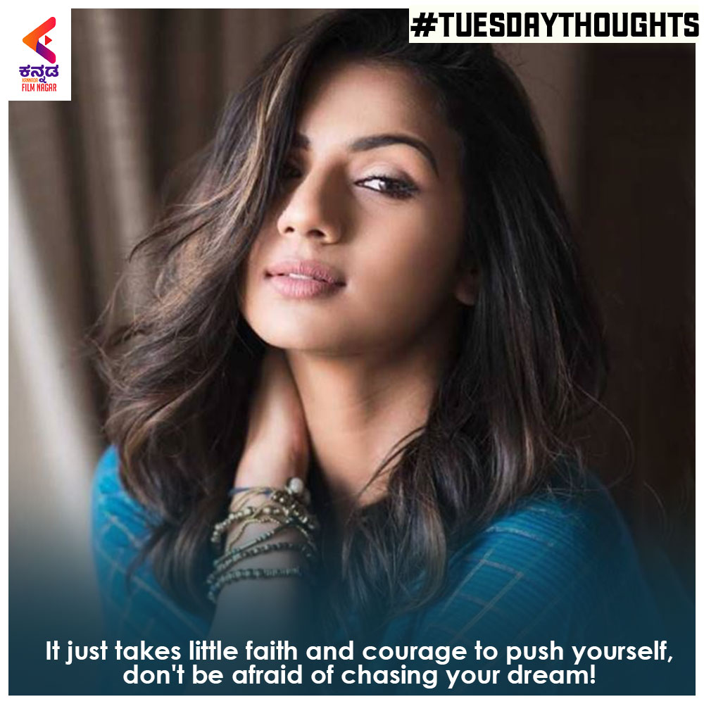 Embrace the things in life that scare you the most.  #KannadaFilmnagar #KFN #TuesdayThoughts #MotivationalQuotes #Motivations #Sandalwood #KannadaFilms #SandalwoodBeauty #Sandalwood #kannadaactress #kannadaactresses  #sruthihariharanpic.twitter.com/Yp3gH9YFU5