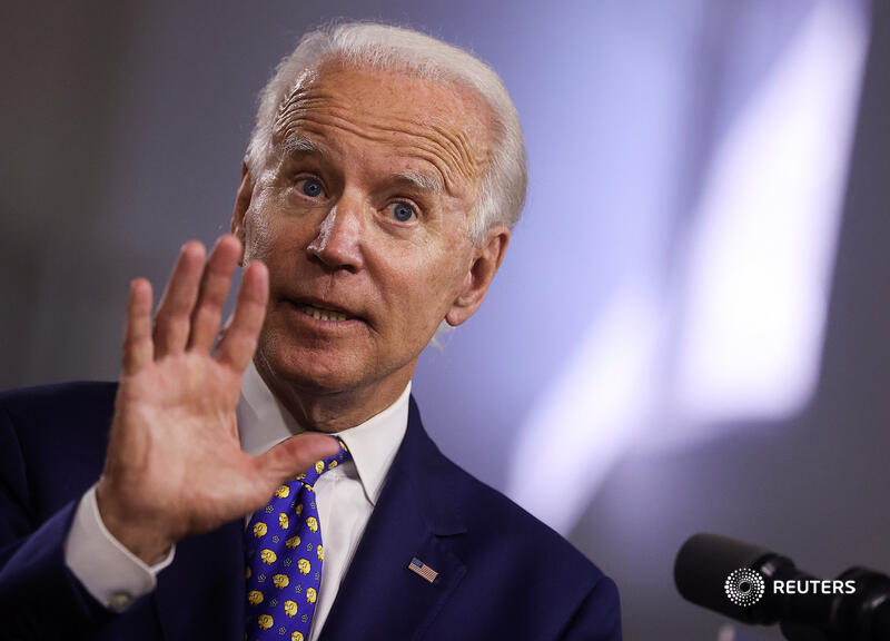 Democratic presidential candidate Joe Biden said President Donald Trump was telling 'bald-faced lies' about voting by mail to distract from his own failures https://t.co/fL9nEohG0q via @michaelvmartina https://t.co/rs9DAK0ADW