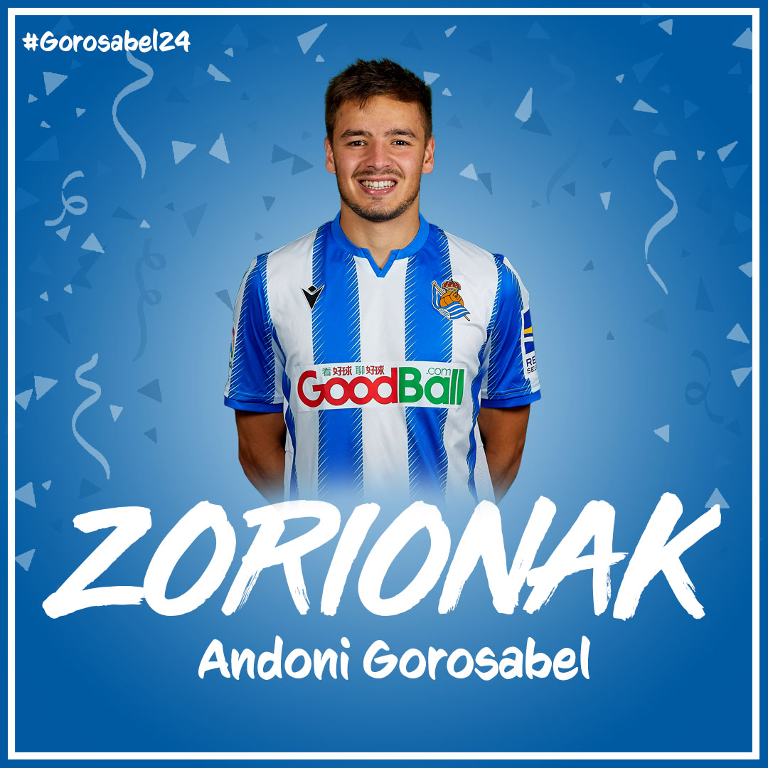🎂 BDAY BOY Andoni Gorosabel!   🎂 Zorionak! Happy birthday! 🎉   💬 Leave a comment with your birthday wishes for Andoni!   #AurreraReala https://t.co/tdlltbDNQq
