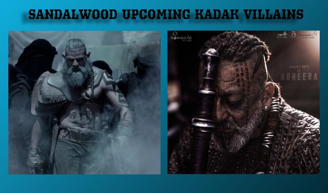 #Sandalwood Upcoming Kadak Villains   #Bhajarangi2 and #KGFChapter2 #KGF2 pic.twitter.com/qEG1lQht4E