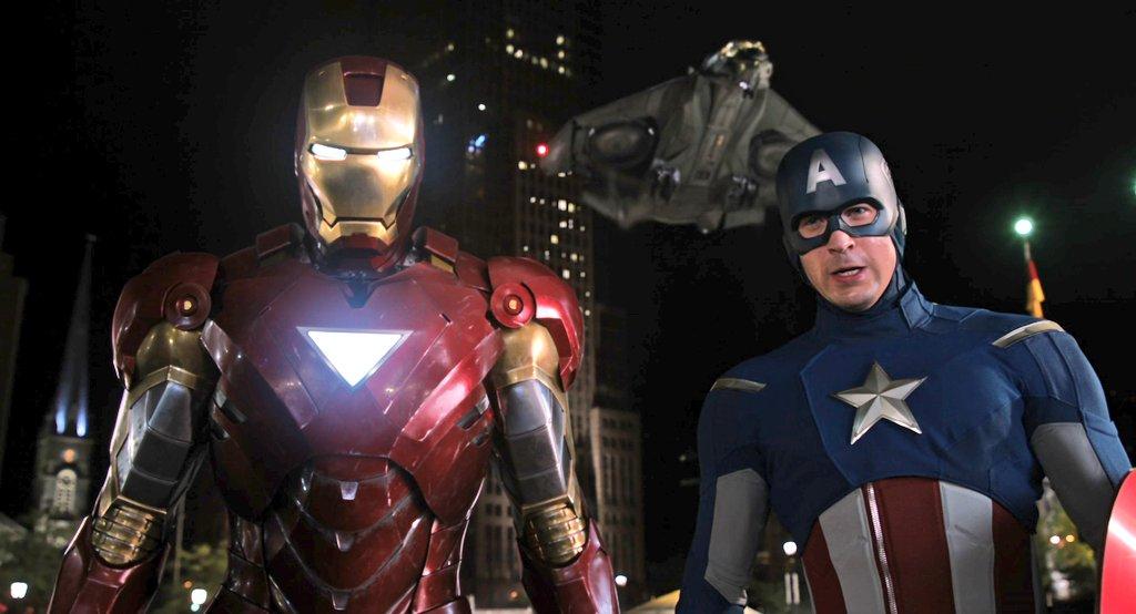 Iron Man or Captain America?  The Avengers (2012)  #TheAvengers #MCU #MarvelStudios #IronMan #CaptainAmerica #FilmTwitterpic.twitter.com/aNH5sBHT9N