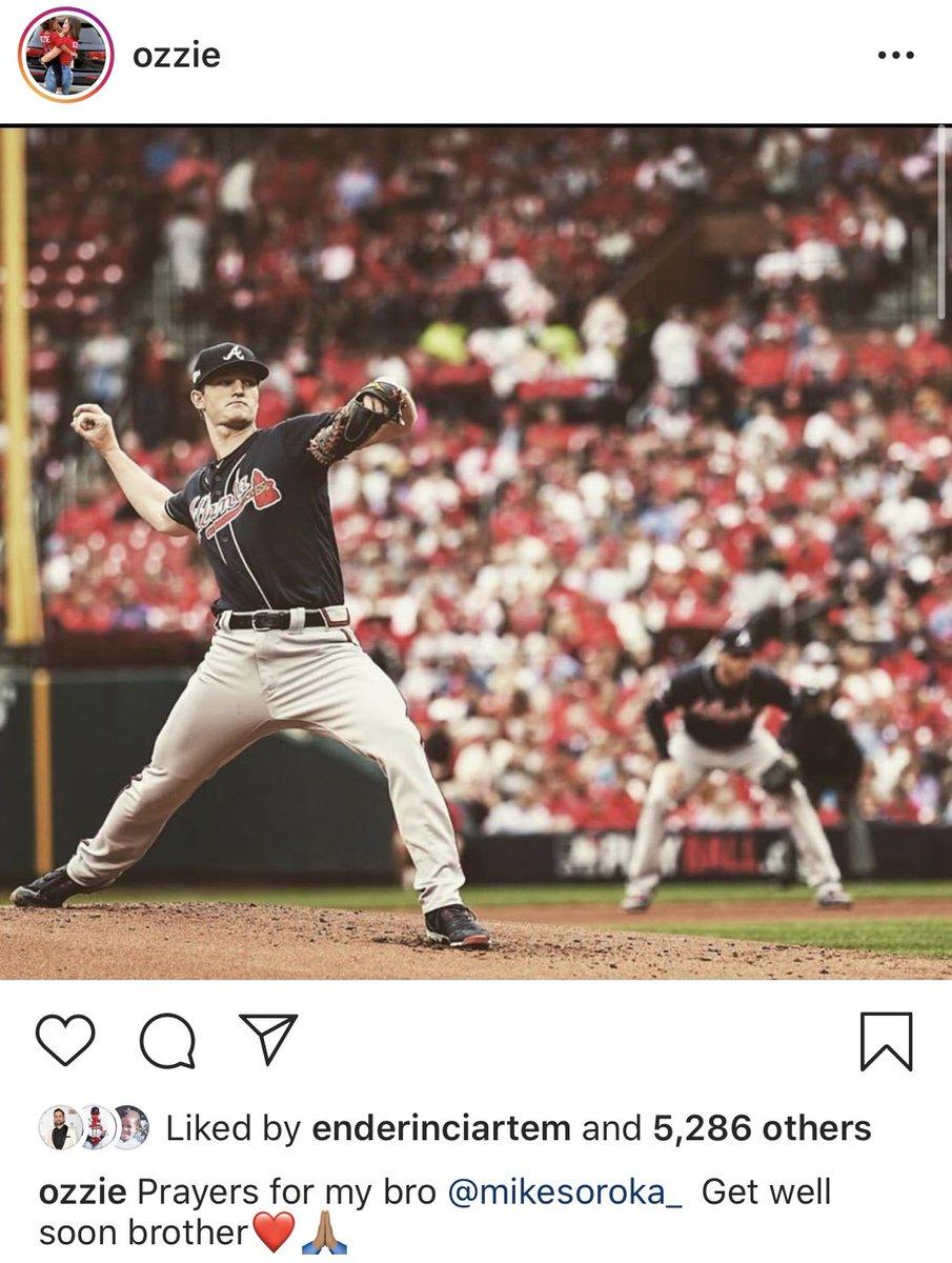 Braves teammates react to Mike Soroka's season-ending injury ⤵️
