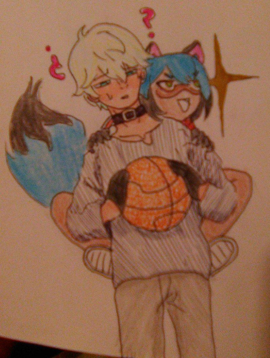 I want to see them play together ><  #shirouogamu #michiru #basquet #anime #netflix #bna #brandnewanimal #fanart #brotppic.twitter.com/3sMhTFxQdD