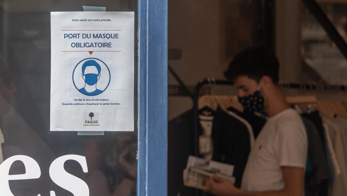 Coronavirus : le client d'une laverie passé à tabac après avoir demandé le port du masque  https://t.co/mIU8kbEdNy https://t.co/buWvoMfGHv