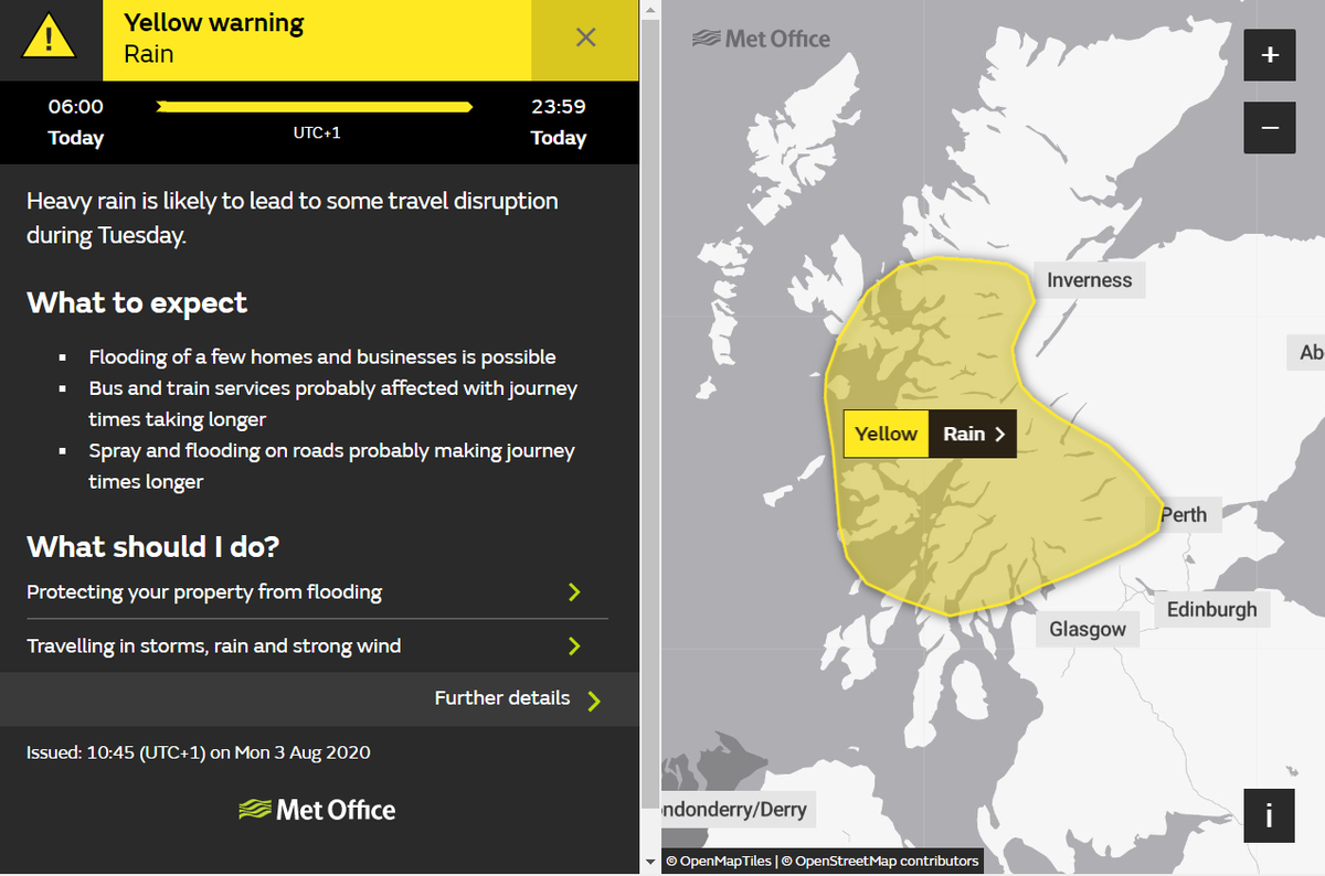 test Twitter Media - ⚠️YELLOW WEATHER WARNING⚠️  The @metoffice have issued a YELLOW weather warning for  🌧RAIN🌧  Today (August 4th) 06:00 until Today (August 4th) 23:59   Full information can be found here👉 https://t.co/aZAc90Kz8z  #DriveSafe https://t.co/oAOz3damtI