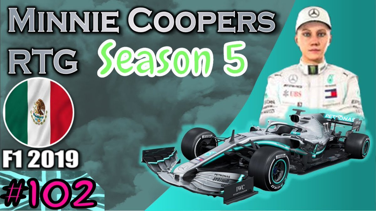 Gday Im Goin Live in 10-30 Mins #F12019 Ep 102 #MinnieCoopersRTG Race 18 Season 5 #MexicanGP  #GrandPrix #MercedesAMGF1 #F1 #Formula1 #GP #FormulaOne #motorsports #TH79Games #autorace #Motorsport #PS4 https://t.co/zBueDzipD0 Minnie Can win Her 2nd Drivers Title today with 3 to go https://t.co/9mNsL8FOvo