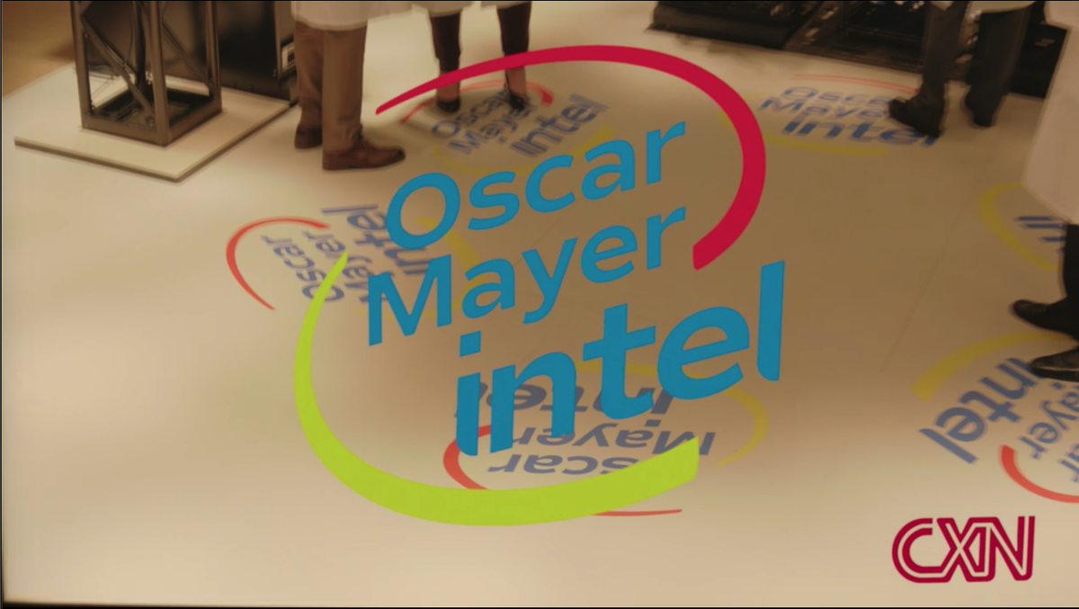 @SirBedivier Its kinda cheeky..gives a tech dystopia idiocracy vibe called Upload on amazon Prime oscar mayer intel 😘