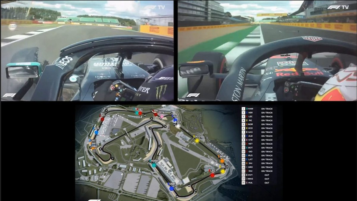 F1   GP Gran Bretagna: gli ultimi due giri mozzafiato di Hamilton e Verstappen [VIDEO] https://t.co/vP7SAEsgDE https://t.co/QQeSWF1Qdm