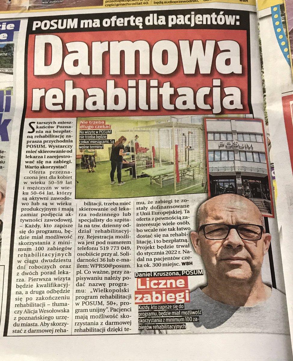 #rehabilitacja #fizjoterapia #zdrowie #physiotherapy #trening #fizjoterapeuta #sport #motywacjapic.twitter.com/rFkGsfnw34