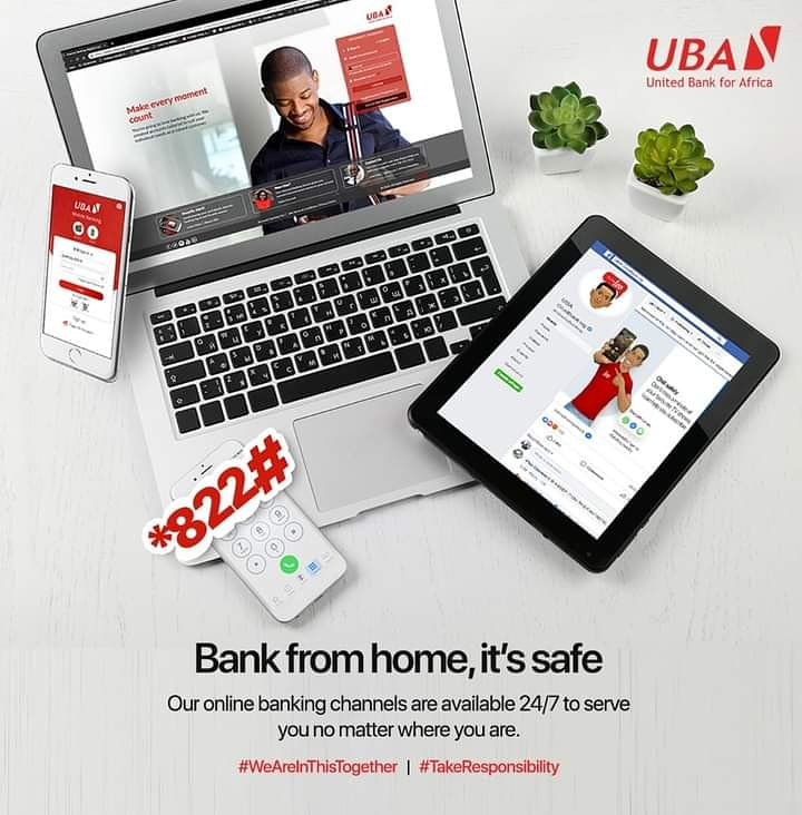 Banking made easy just for you. Make transactions at your convenience via our digital platforms; LEO on messenger @UBAChatBanking, UBA Mobile App, USSD code *822# and Internet Banking https://t.co/sVv7q5Keh7  #TuesdayTips #UBACares #AfricasGlobalBank #UBAZambia https://t.co/7KlmKWrfcq