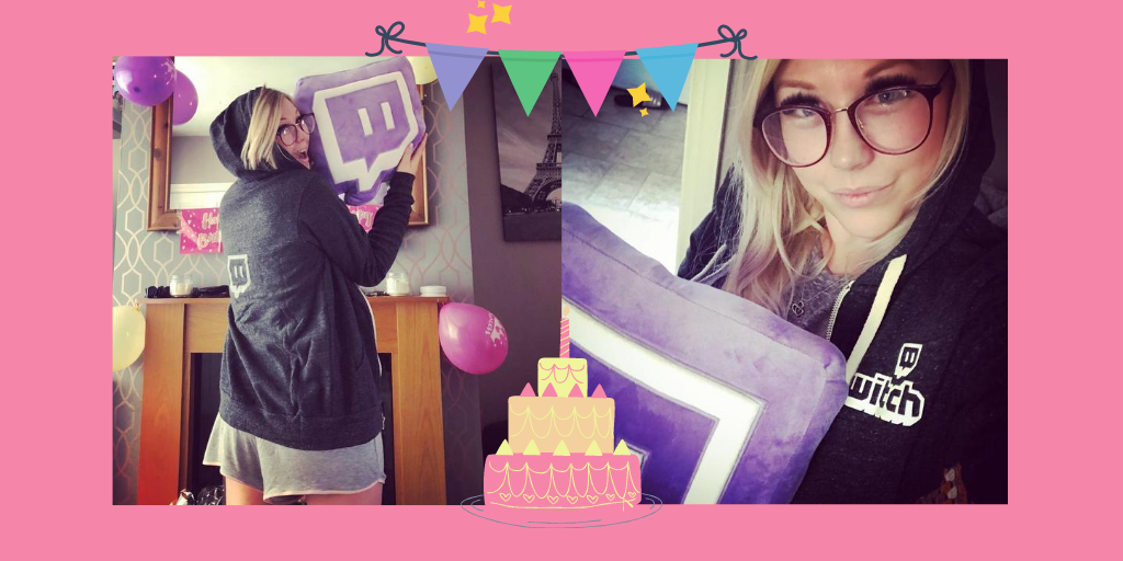 It's ma Birthdaaaay!! So spoiled already! Cannot wait to spend it with my #twitchcommunity later!  Love y'all so much and can't wait to show you my cool presents! #twitchatreamer #girlgamer #twitchparty #twitchfamilypic.twitter.com/MeesW0YjWE
