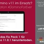 Image for the Tweet beginning: Jetzt das #FixPack 1 für