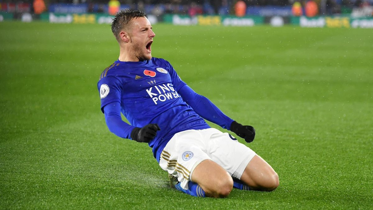 2005: Factory worker 2011: Playing in Division 5 2016: Premier League winner 2020: 100 Premier League goals 2020: PL Golden Boot winner ⠀ What a journey, Jamie Vardy 👏👏