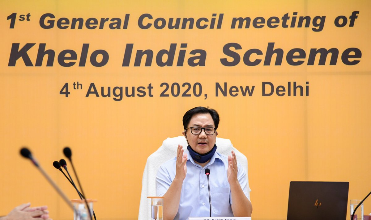 Besides strengthening the process of grassroots talent identification and infrastructure development, General Council also decided to assist the States to organize better State Level Khelo India Games to provide platforms to young talents. https://t.co/eSbCHSaqZT