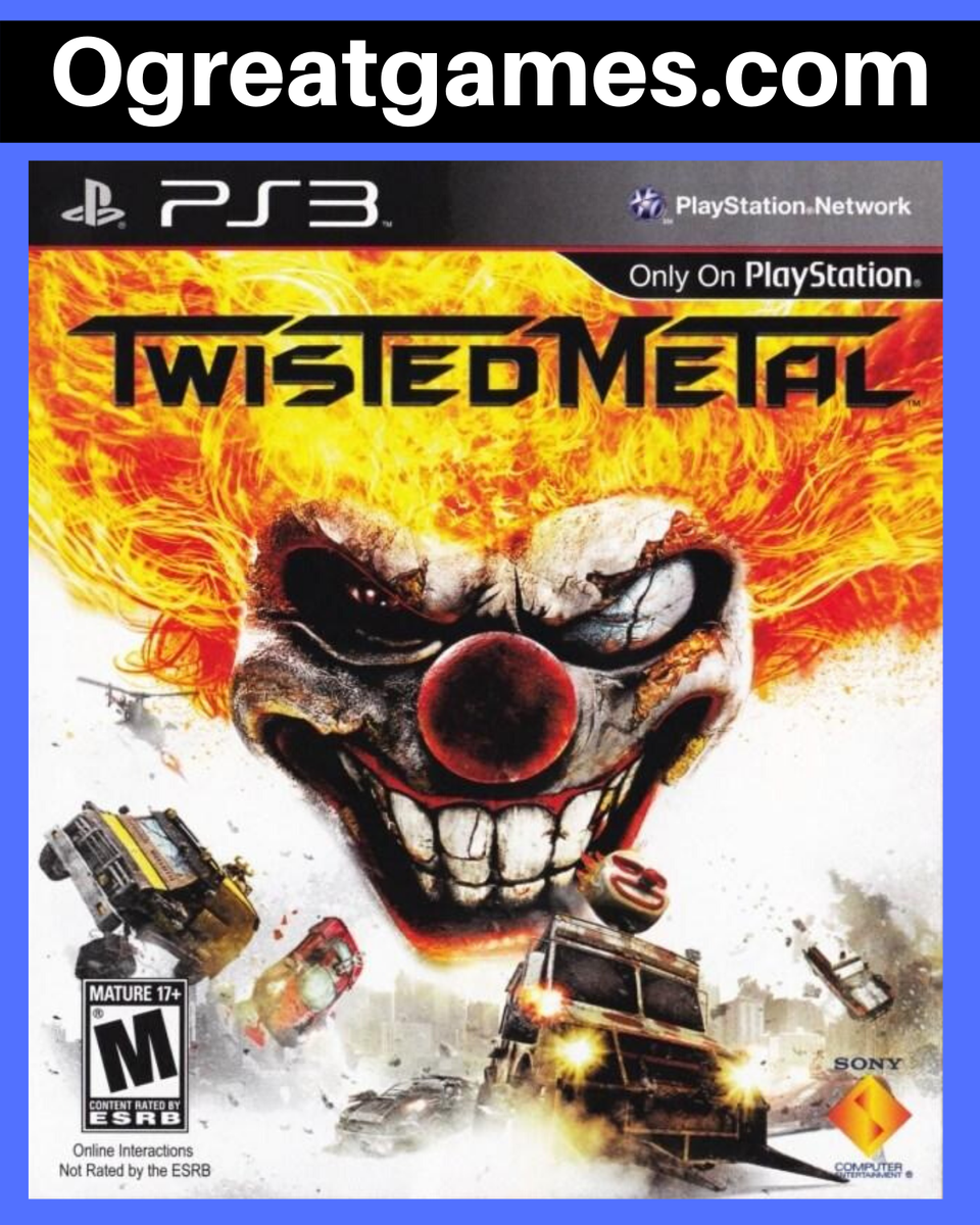Retweet if you have ever known about Twisted Metal! https://ogreatgames.com/products/twisted-metal… #videogamer #game #playstation #ps3 #retweetpic.twitter.com/nAR8xNQFRH