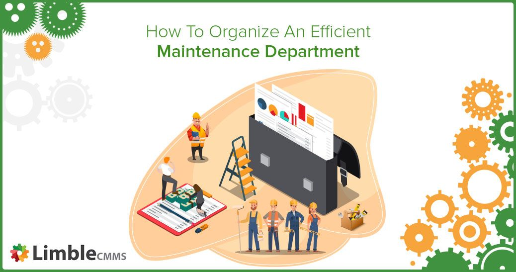 Another awesome guide from @LimbleCMMS that outlines how to set-up and organize an efficient #MaintenanceDepartment and define smart maintenance goals that will support your #BusinessGoals.   https://buff.ly/36kZF2Lpic.twitter.com/erjC5ergb4