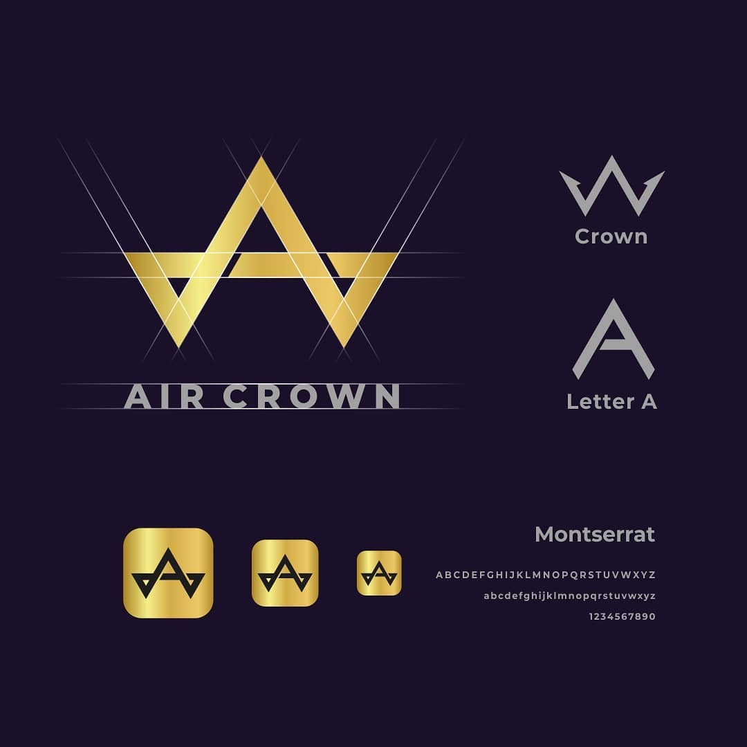 Air Crown logo.  Follow: @logomakers_hq ⠀⠀⠀⁠ By garagephicstudio  #logoplace #creativity #logomakers_hq #logo #instadaily #illustrator #branding #creative #brandidentity #designer #minimal #designinspiration #design #brand #photoshop #typography #photooftheday #crownpic.twitter.com/fLG86TrR5J
