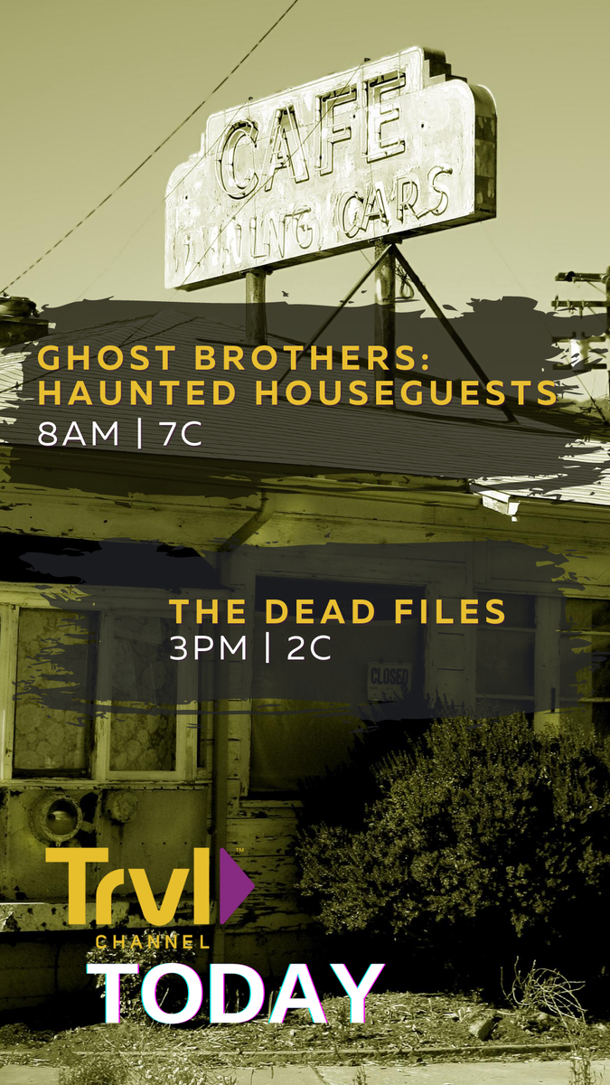 Get haunted or join the investigation...weve got a marathon for you! Check out the full lineup>>> traveldaily.com/ontv