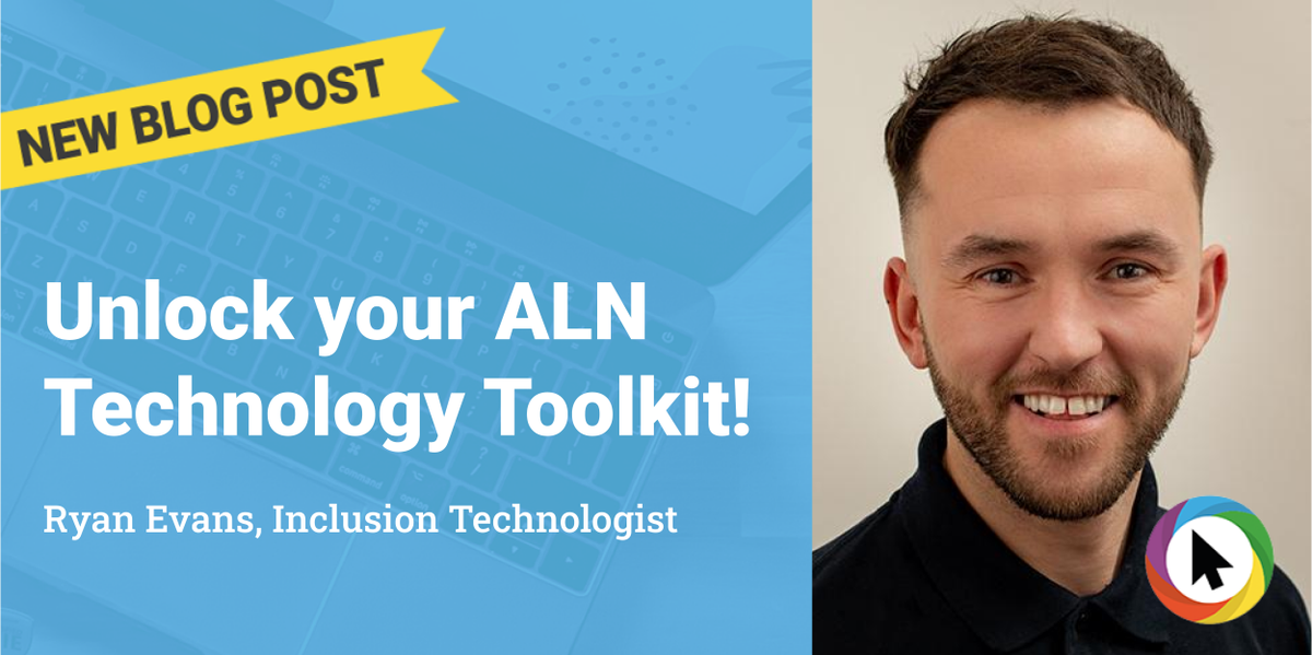 """""""..For learners who find reading challenging for example, there are emerging technologies that are groundbreaking...""""  Read more in this week's blog by Inclusion Technologist, @Rufio99    - https://bit.ly/a2balntoolspic.twitter.com/2B9HuFWzSk"""
