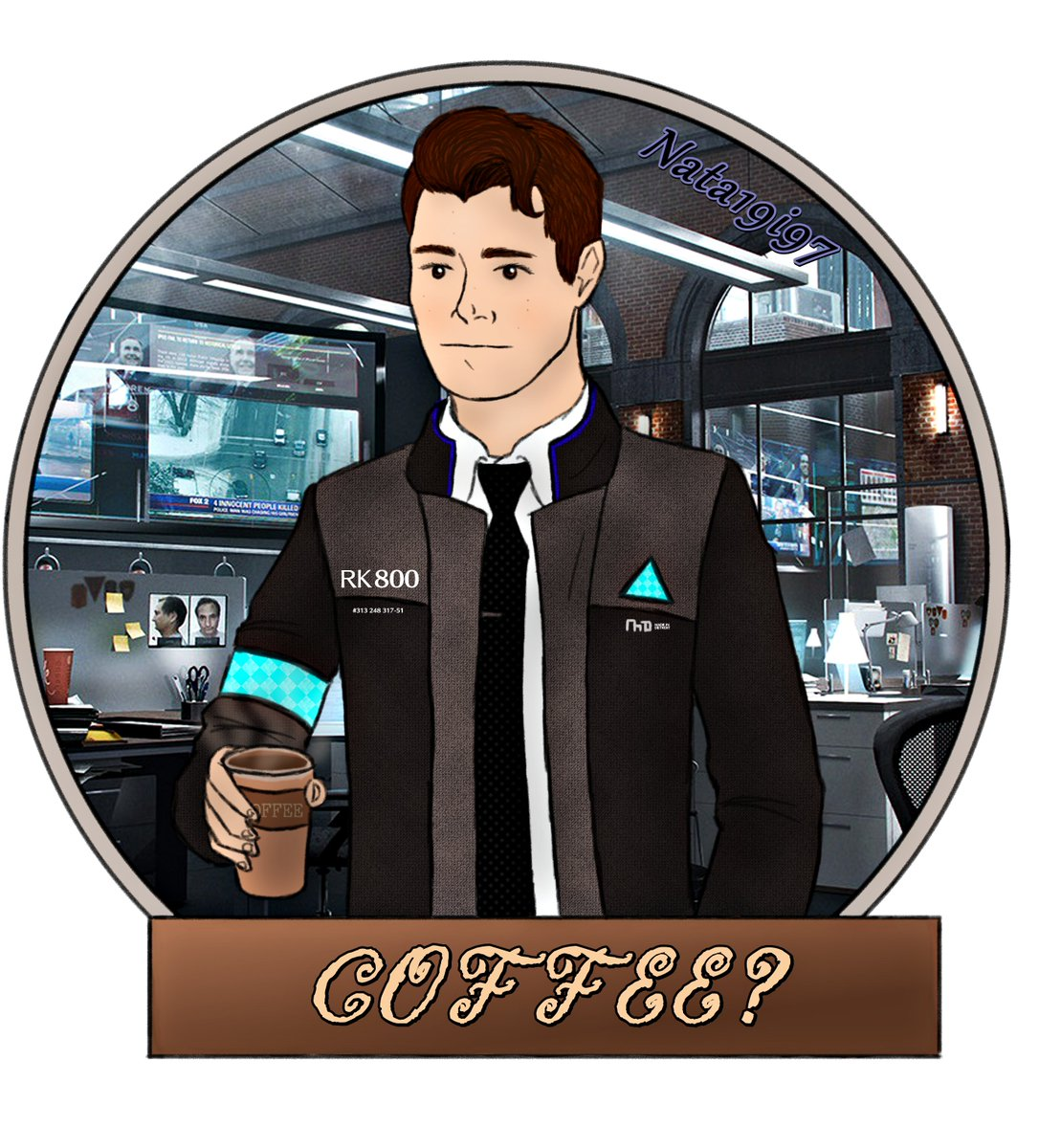 August Art Prompt Day 4: Coffee  I decided to draw something - because I love coffee!  It's not perfect but I still learning #ConnorArmy #DechartGames  @BryanDechart @AmeliaRBlairepic.twitter.com/2HkQV6izES