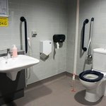 More Changing Places - large accessible toilets for severely disabled people – will change lives. FWP created this facility at Gloucester Services @glouc_services @motorwayservice #ChangingPlaces #architecture #ChangingLives