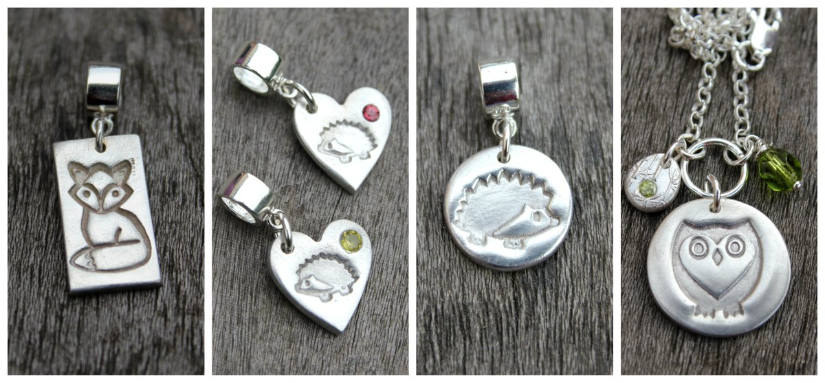 Ill be offering a special discount on my jewellery to anyone signed up to my newsletter this week - sign up from the front page of littlesilverhedgehog.com