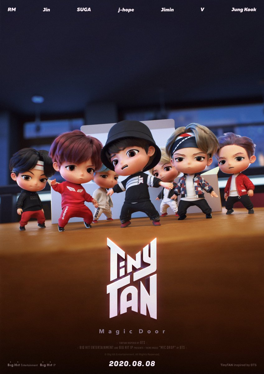 D-4, Here's cuteness to heal the world! #TinyTAN https://t.co/OPREBVMu1I