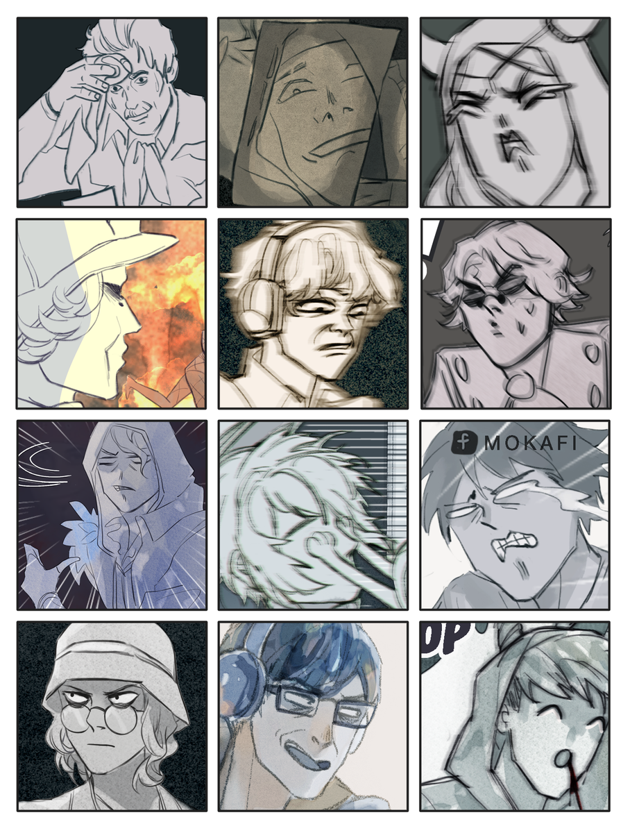 RT @Mokafi_: Challenge accepted #faceyourart https://t.co/e5P5Hcwior
