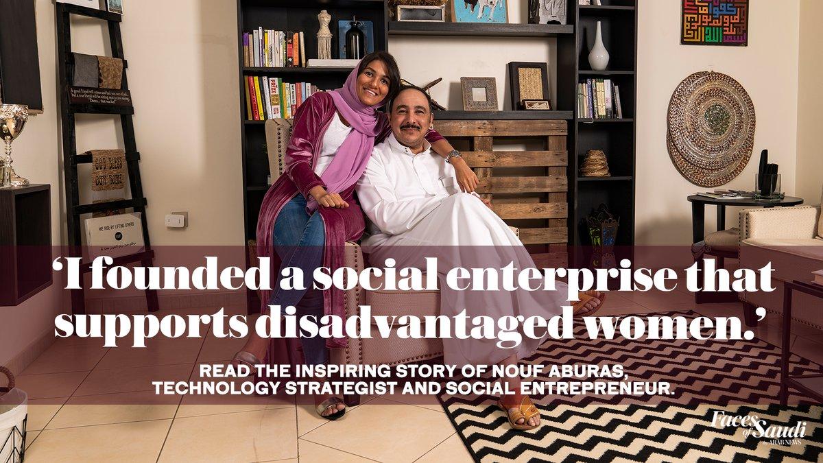 Read the full story on Nouf Aburas, Technology Strategist & Social Entrepreneur @Noufaburas https://t.co/FofLP0IEnE https://t.co/Z1hbm8k5qM