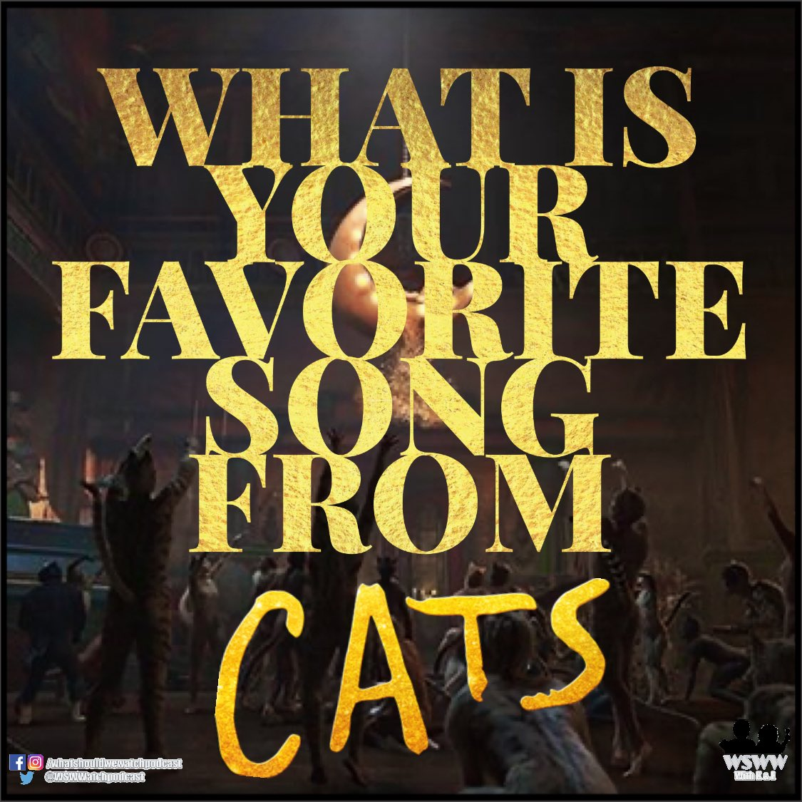 Do any of the songs bring back #memories ? 😆🎶🎶🎶 Let us know your favorite in the comments below ⬇️⬇️⬇️ Listen to more here: 🍏spoti.fi/2o8GabM #catsmovie #catsmusical #jelliclecats #jellicleball #feverdream #PodNation #broadway #andrewlloydwebber #musicaltheatre