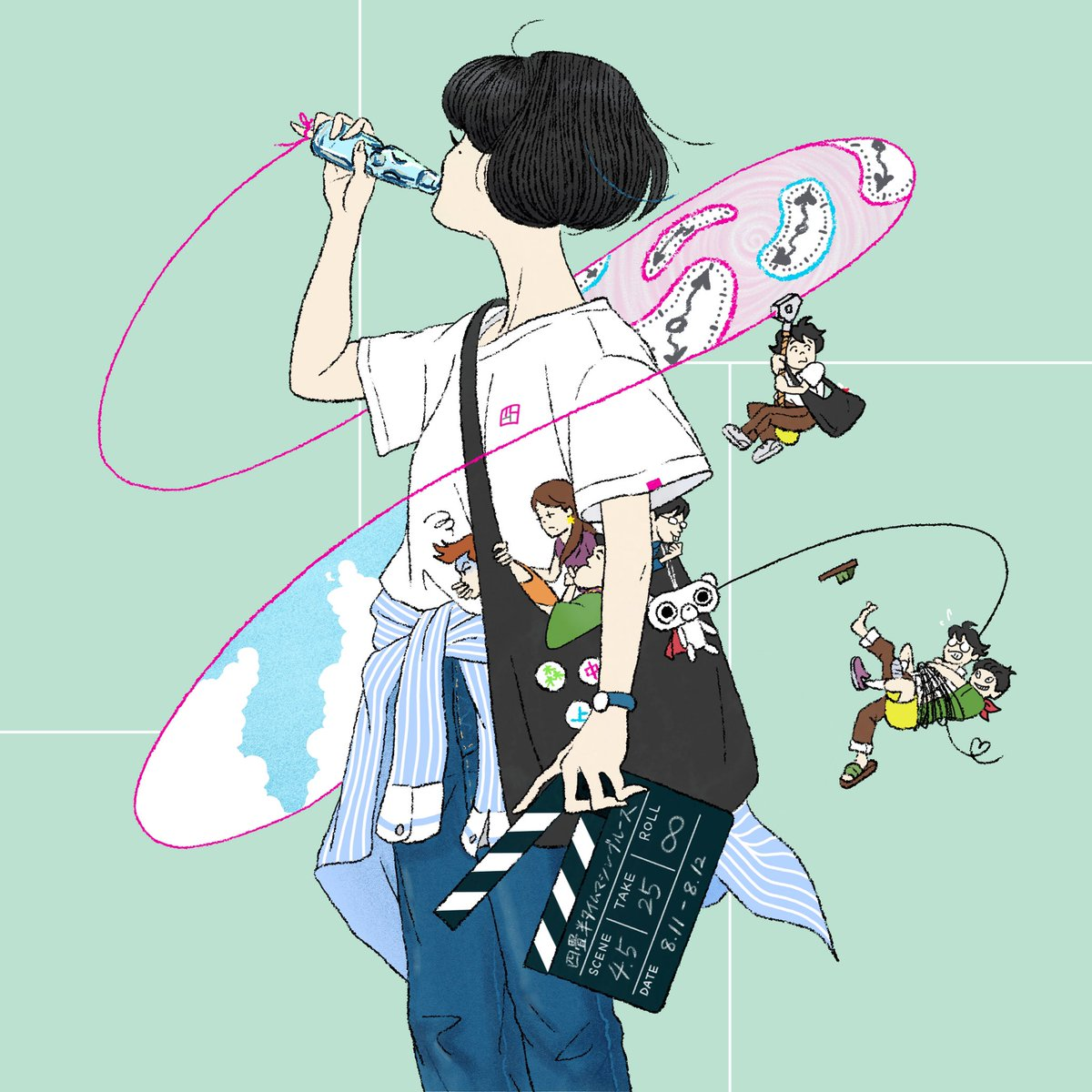 中村佑介 ジャケ全集 Play 素敵な感想絵をほんとうにどうもありがとう