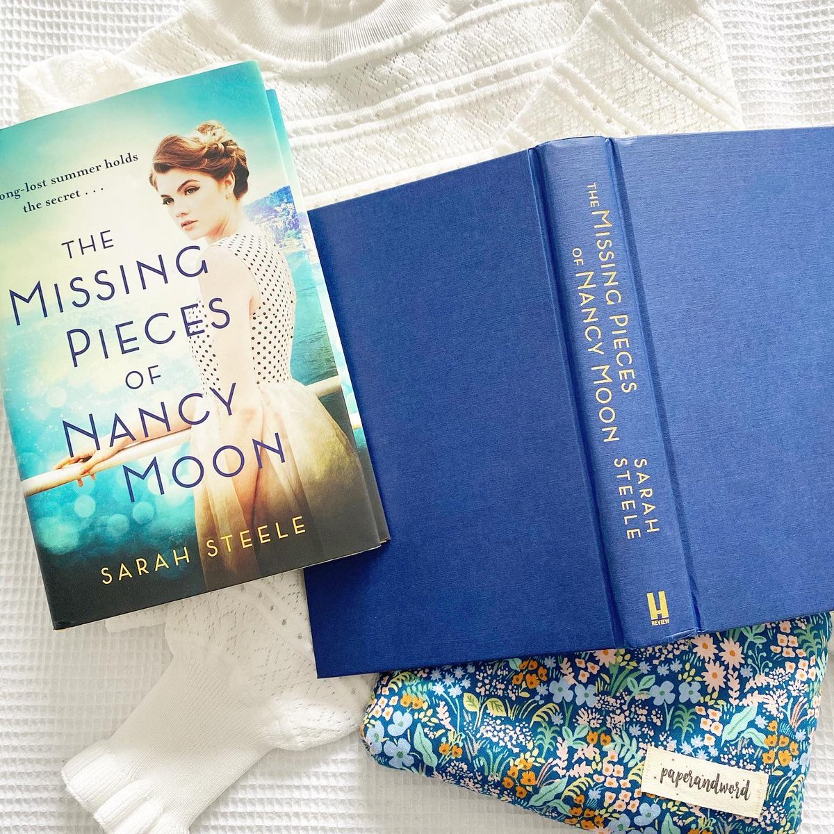 It's my stop on the social media blast for #TheMissingPiecesofNancyMoon #FollowNancyMoon  https://t.co/jbOorDaT9p  I'm also sharing a sneak peek of the prologue below! 💙👗  @headlinepg @sarah_l_steele https://t.co/oWGVVdvPK3